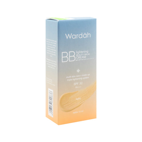 Wardah, BB Cream SPF32, Light, 15 ml