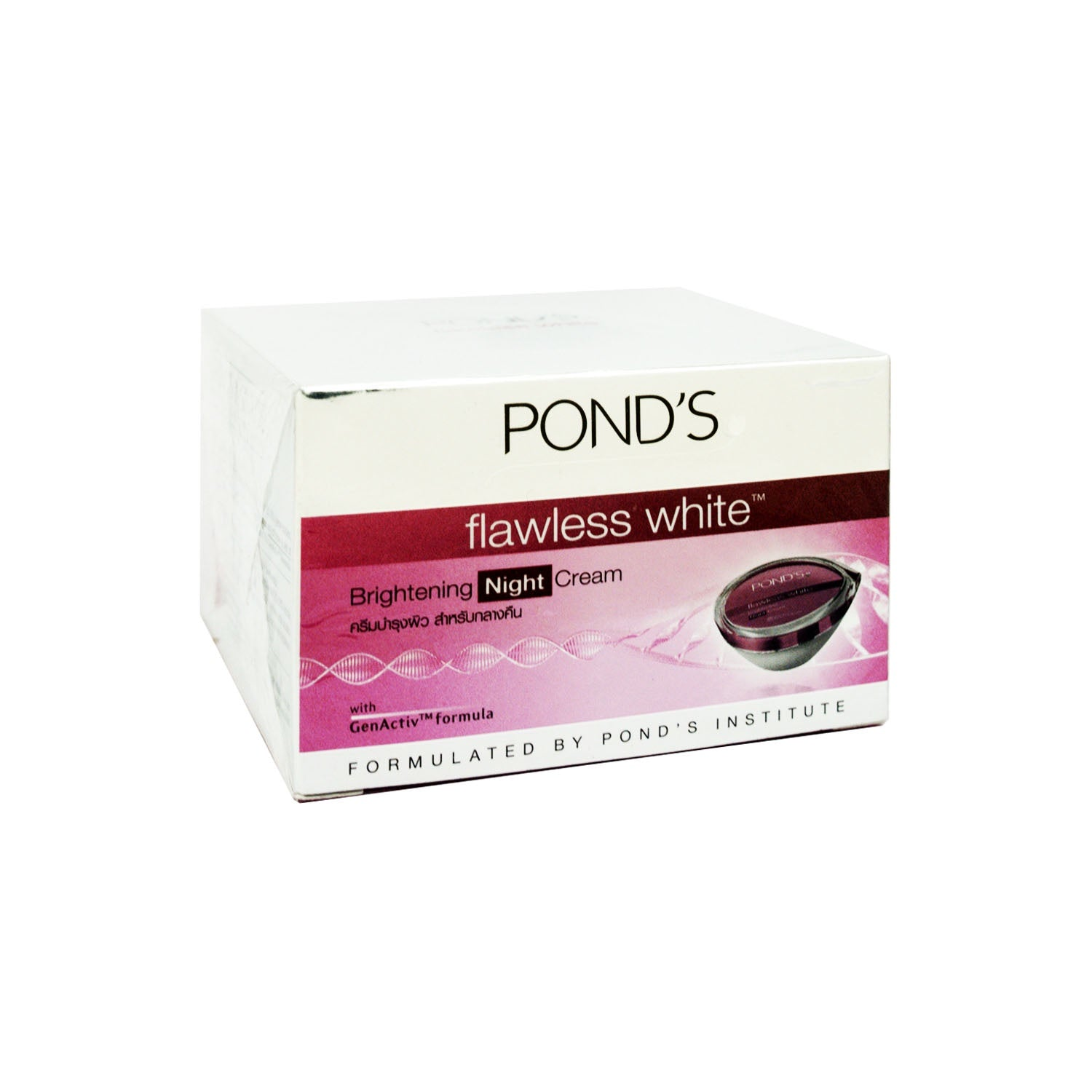 Pond's, Flawless White Brightening Night Cream, 10 g