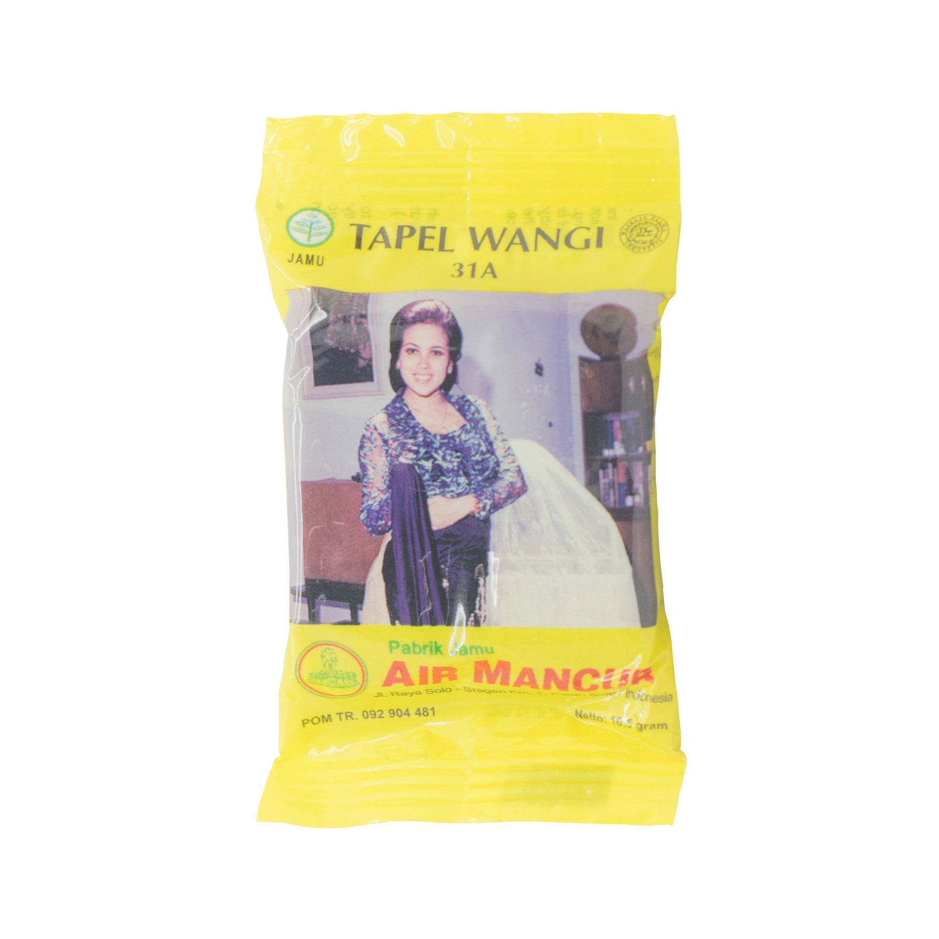 Air Mancur, Tapel Wangi, 31A, 10.5 g
