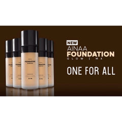 NSA Beau, Ainaa Foundation Glow, 25 ml