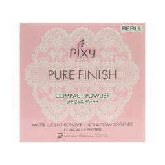 Pixy, Pure Finish Compact Powder Refill, Beige, 11 g