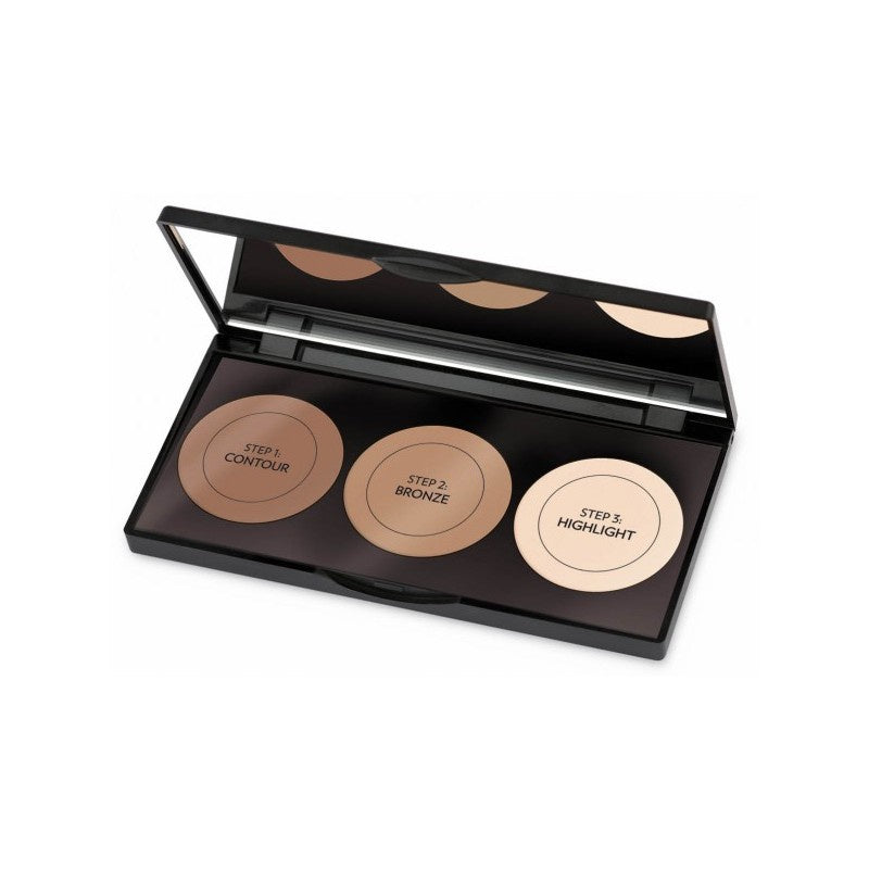 Golden Rose, Contour Powder Kit, 3 X 3.5 g