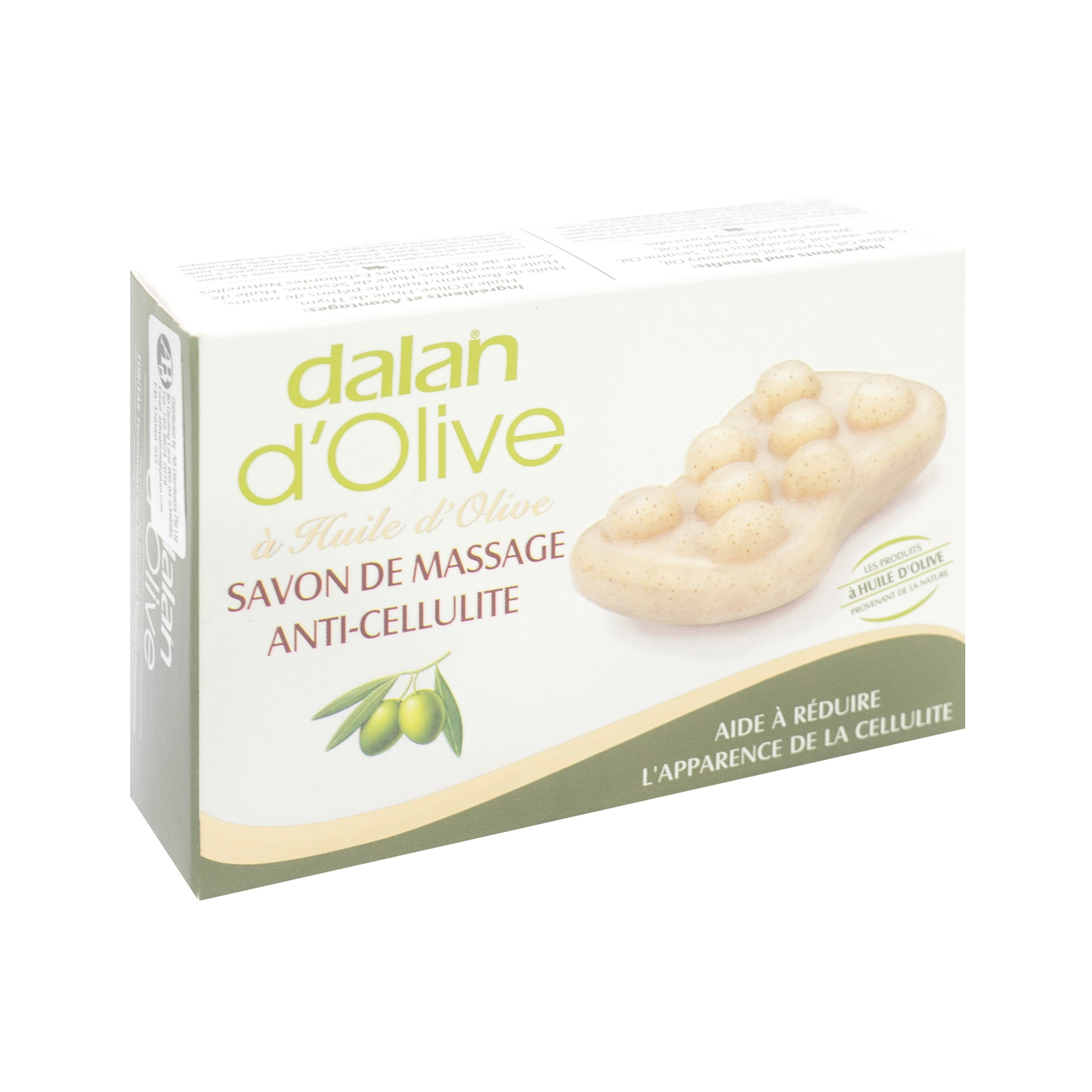 Dalan, D'Olive Oil Massage & Anti-Cellulite Soap, 150 g