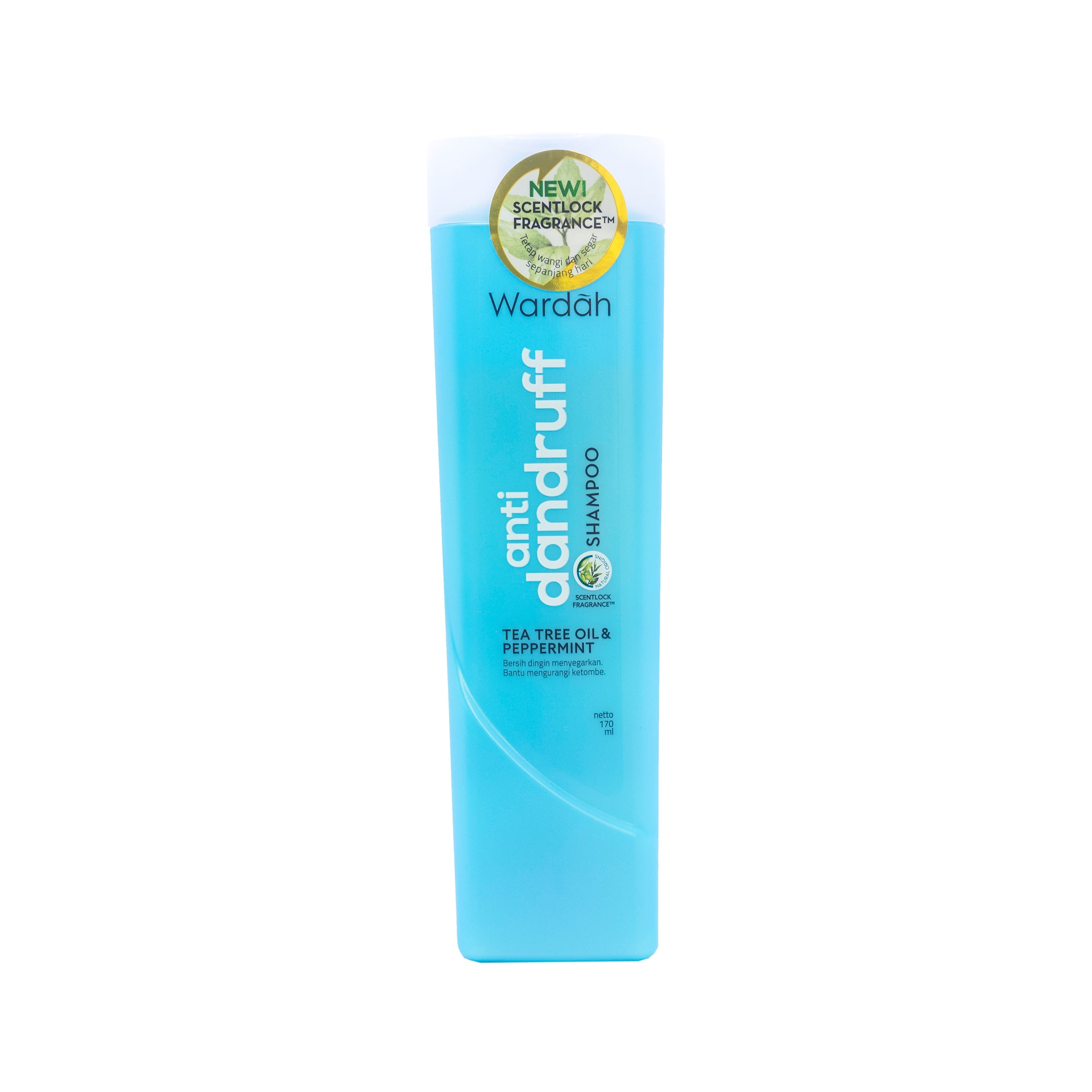 Wardah, Shampoo Anti Dandruff, 170 ml