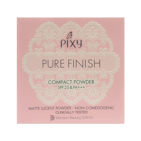 Pixy, Pure Finish Compact Powder, Beige, 11 g