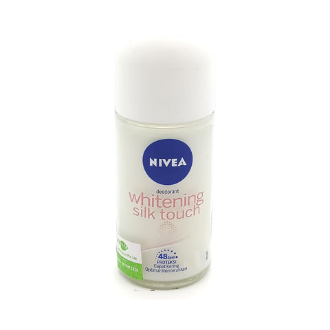 Nivea, Deodorant Whitening Silk Touch, 50 ml