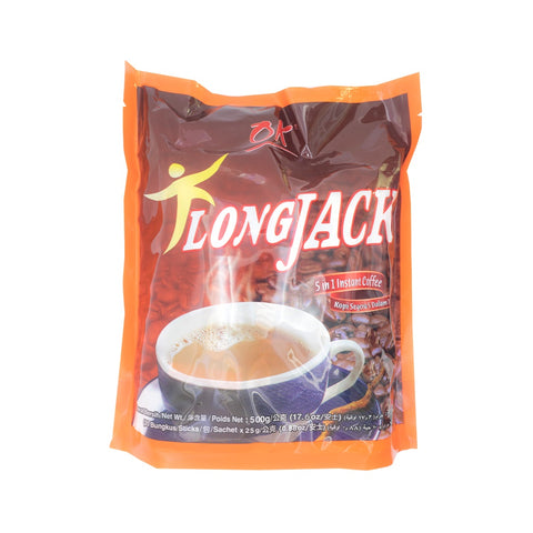 Orang Kampung, Long Jack Instant Coffee, 5 in 1, 20 g X 20 sticks
