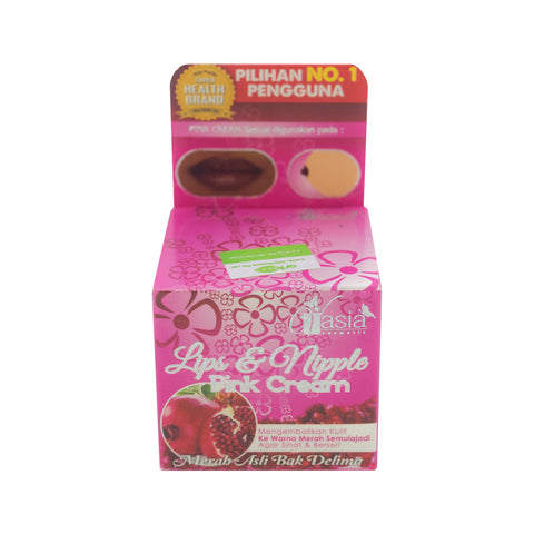 V'Asia, Lip & Nipple Pink Cream, 6 gm
