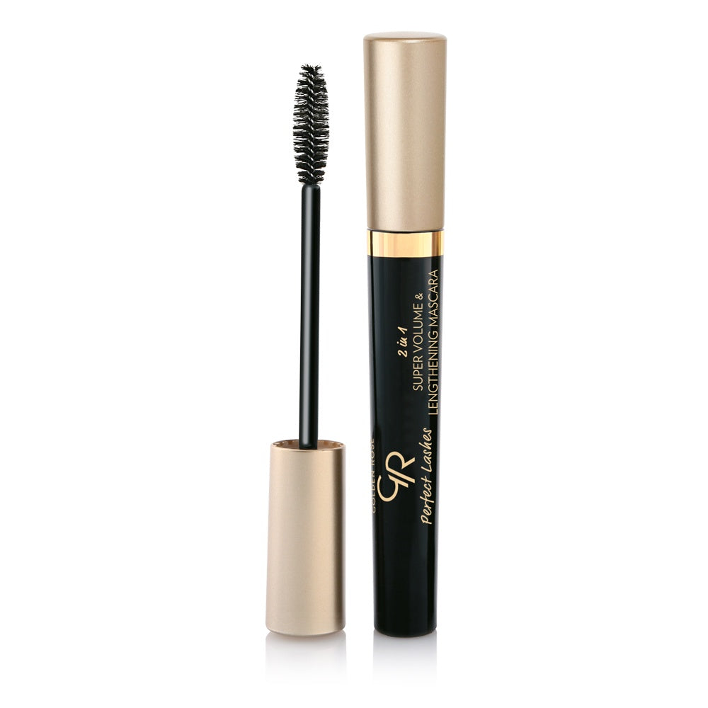Golden Rose, Perfect Lashes 2 in 1 Super Vol & Length Mascara