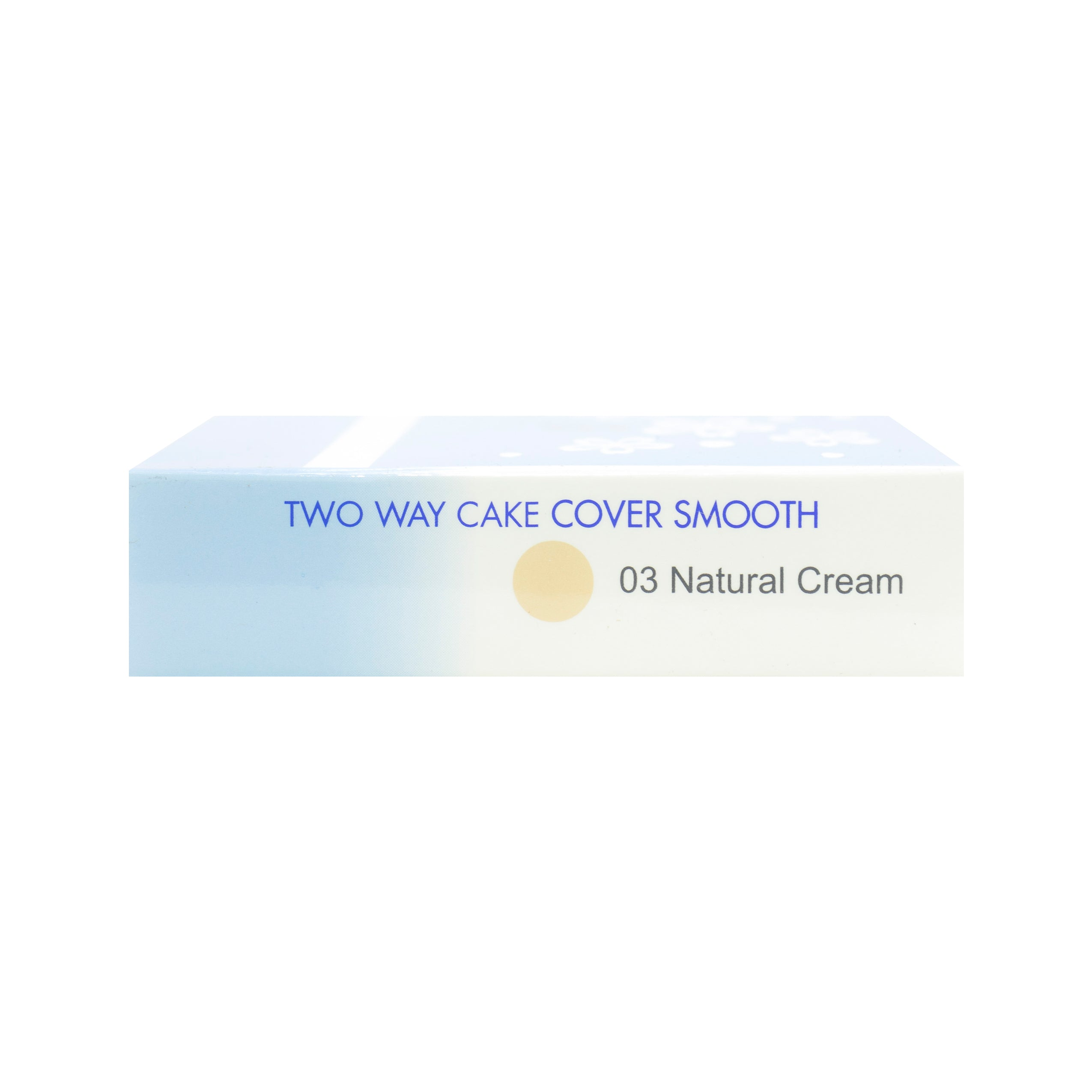 Pixy, Two Way Cake, Cover Smooth,  03 Natural Cream, 12.2 g