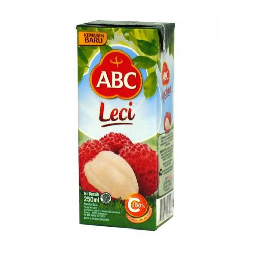 ABC, Lychee Flavored Drink, 250 ml