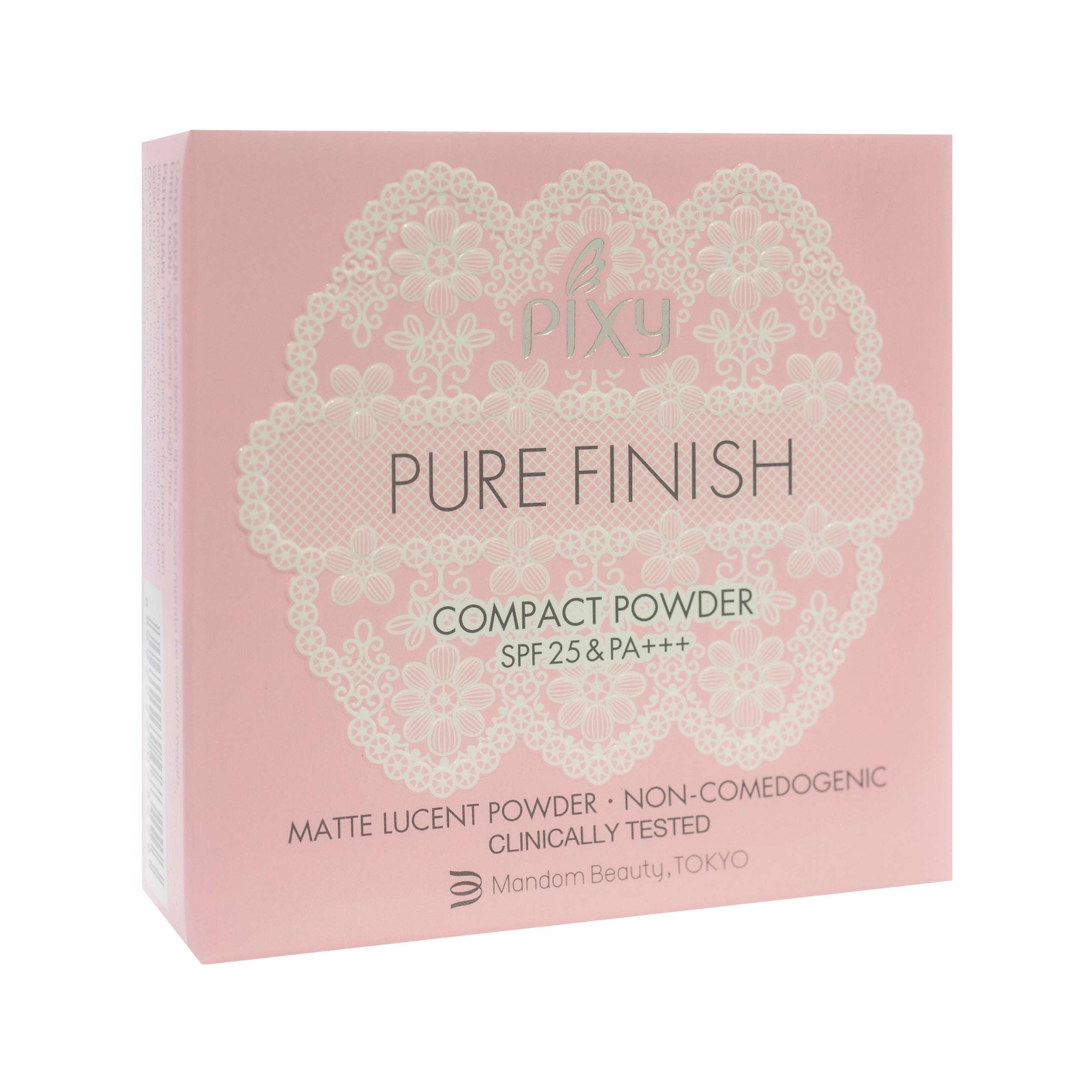 Pixy, Pure Finish Compact Powder, Pink Beige, 11 g