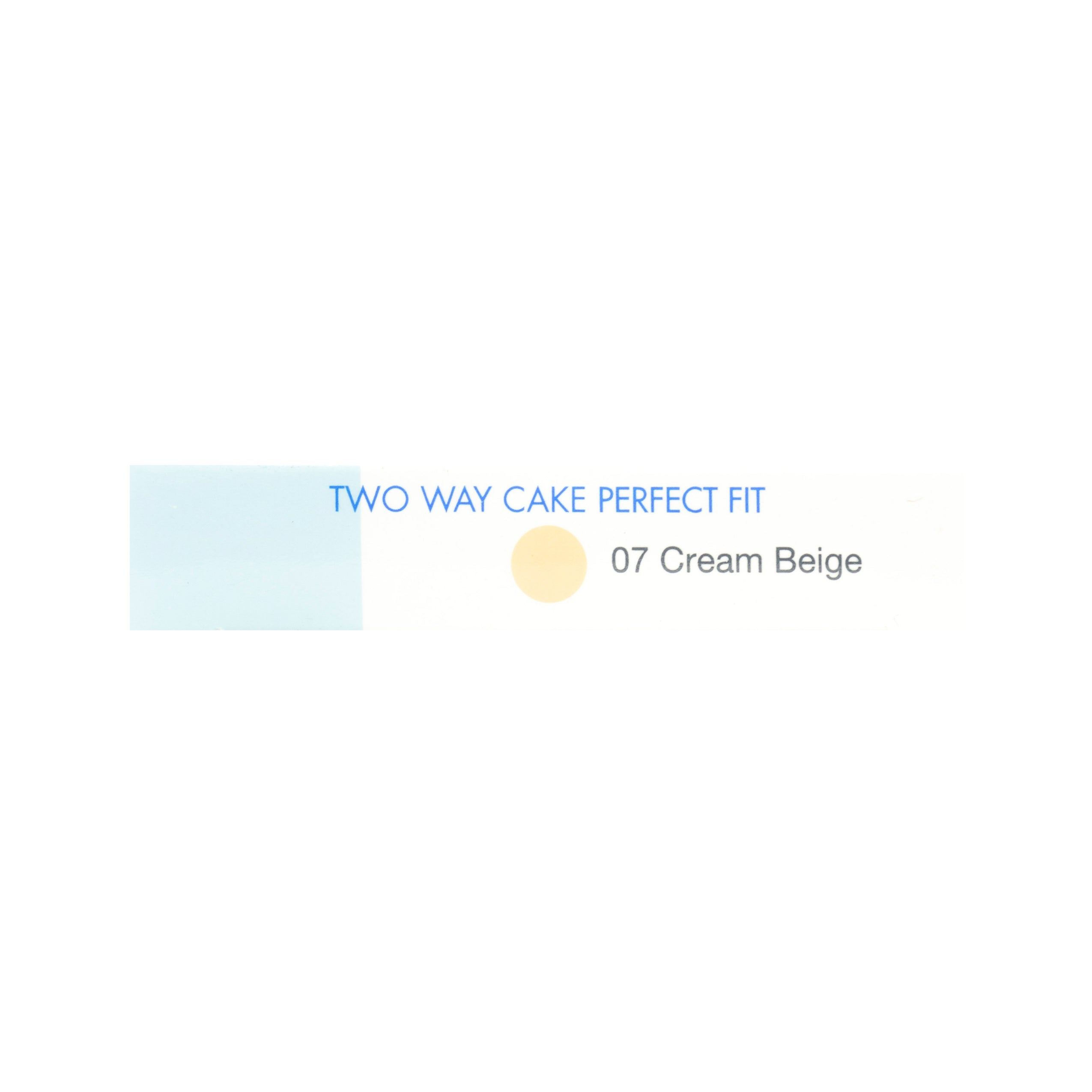 Pixy, Two Way Cake, Perfect Fit, Cream Beige, 12.2 g
