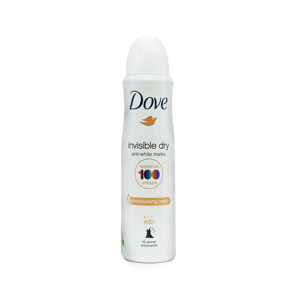 Dove, Invisible Dry Anti-White Marks Moisturising Cream, 150 ml