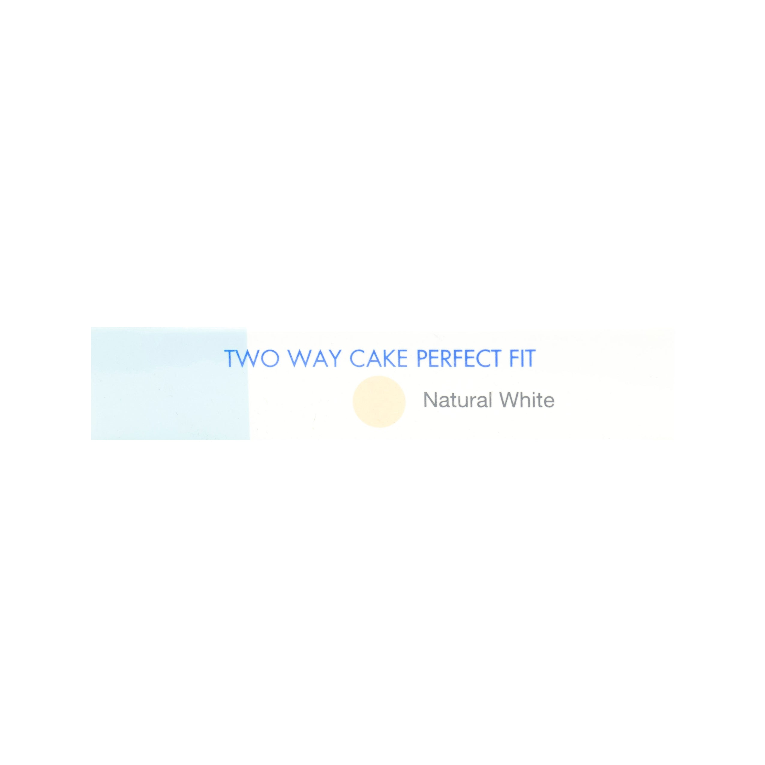 Pixy, Two Way Cake, Perfect Fit, Natural White, 12.2 g