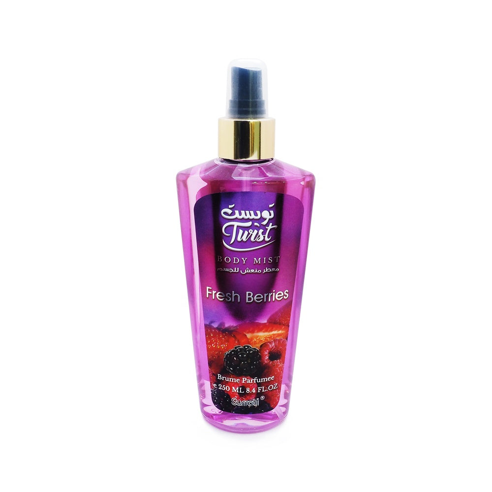 Surrati, Twist Body Mist, Fresh Berries, 250 ml