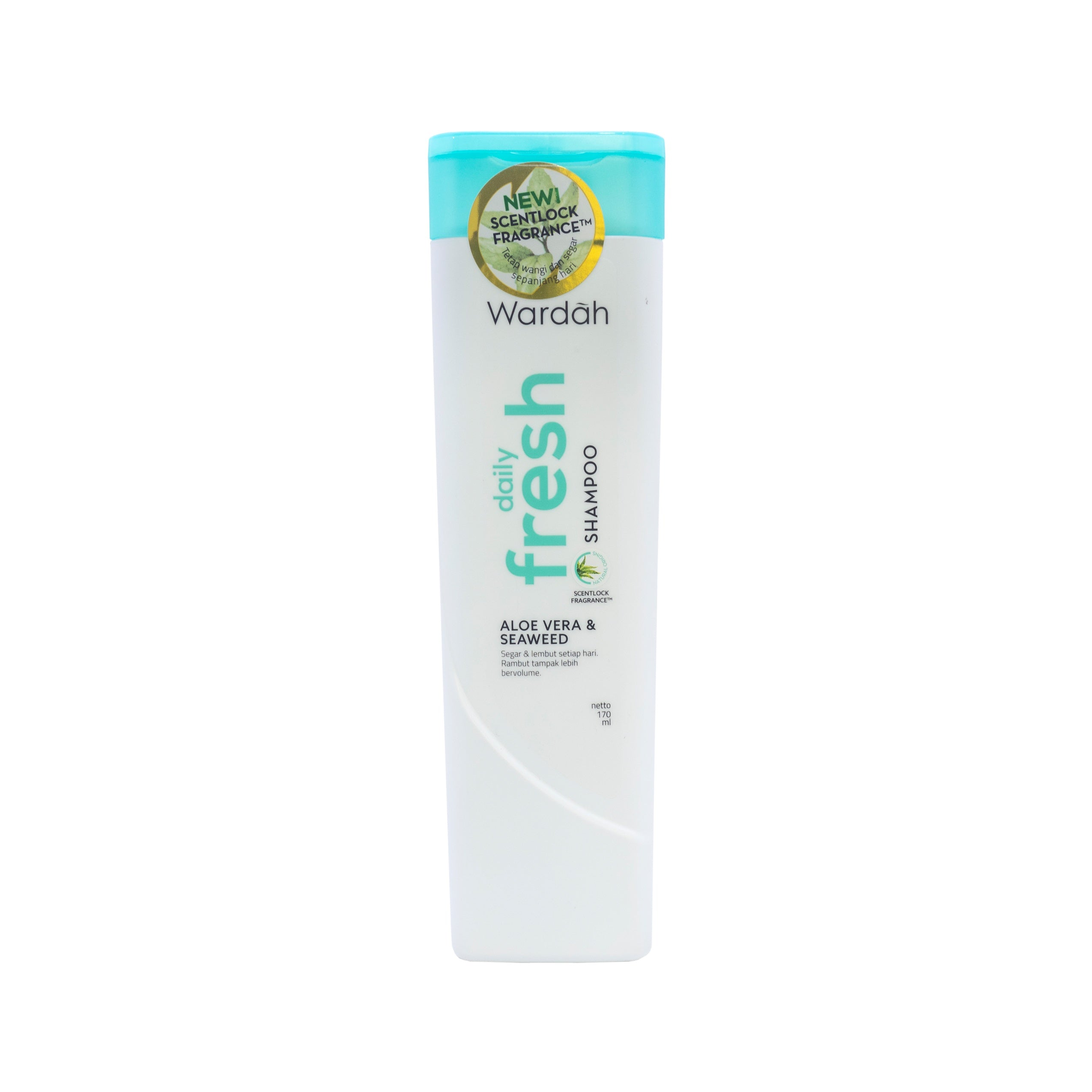Wardah, Shampoo Daily Fresh, 170 ml