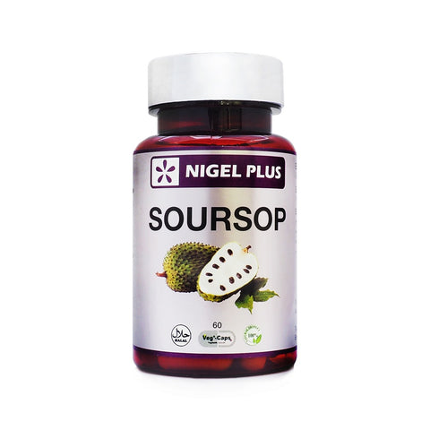 Nigel Plus, Soursop, 60 veg caps