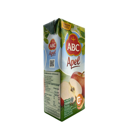 ABC, Apple Flavored Drink, 250 ml
