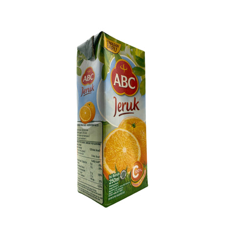 ABC, Orange Flavored Drink, 250 ml