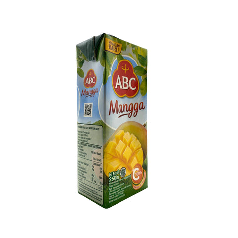 ABC, Mango Flavored Drink, 250 ml