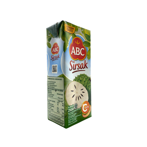 ABC, Soursop Flavoured Drink, 250 ml