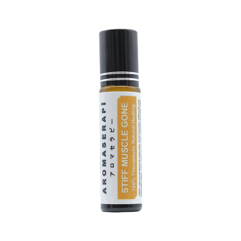 Aromaserapi, Adult Stiff Muscle Gone Roll On, 10 ml