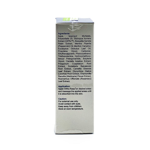Akuariz, Ortho Relax Gamat Therapy, 60 ml