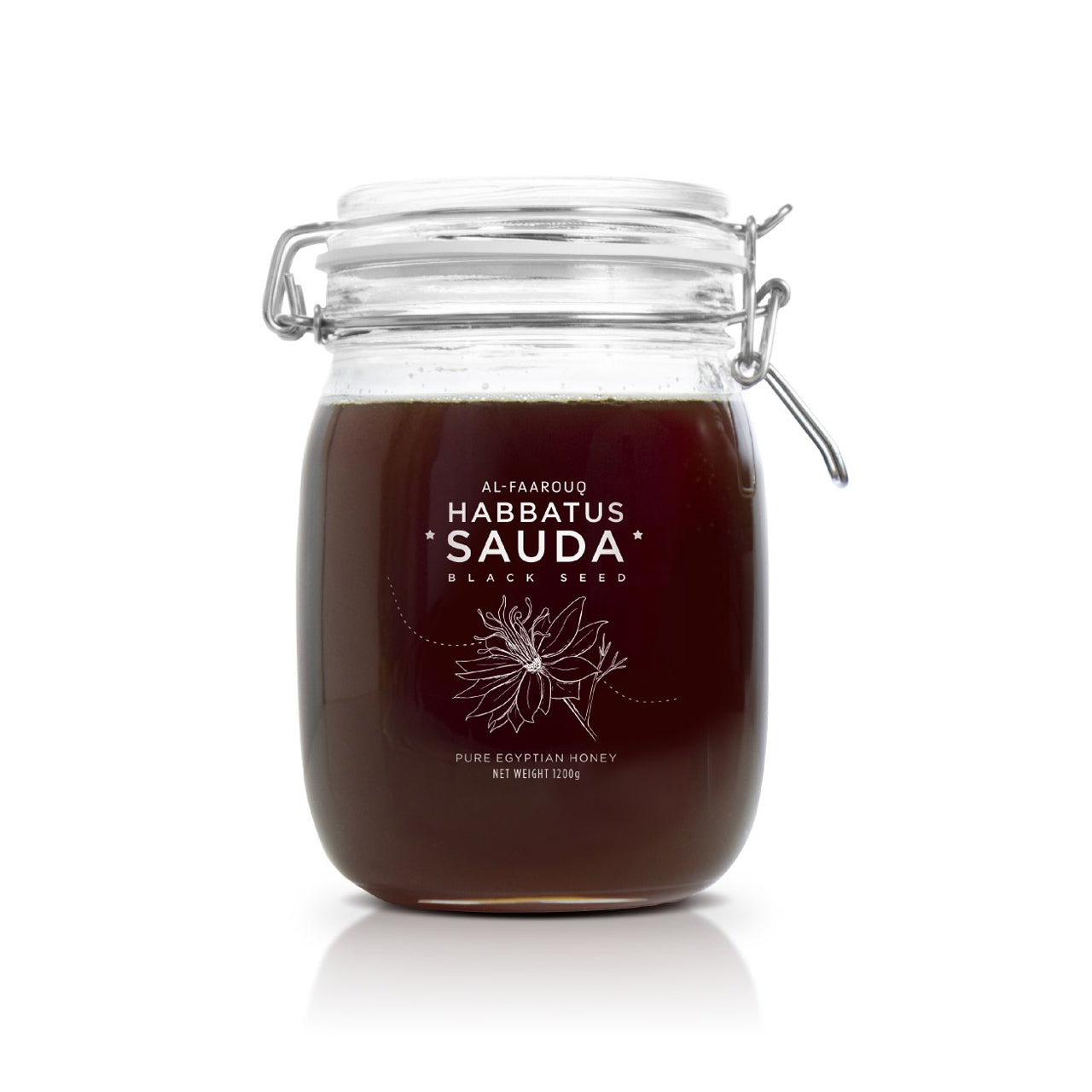 Al Faarouq, Habbatus Sauda Pure Egypt Honey, 1200 g