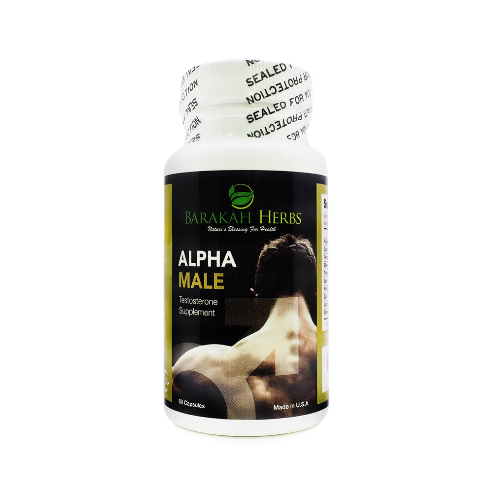 Barakah Herbs, Alpha Male Testosterone Supplement, 60 capsules