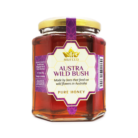 Mufeed, Pure Honey, Austra Wild Bush Australia, 350 g