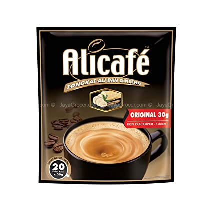 Power Root, Ali Cafe 5 in 1, Original, 20 sachets X 30 g