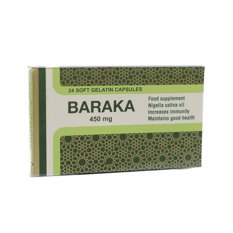 Pharmaniaga, Baraka Dietary Supplement, 24 Softgel
