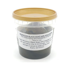 Moroccan Black Soap, with Olive Oil, 400 g