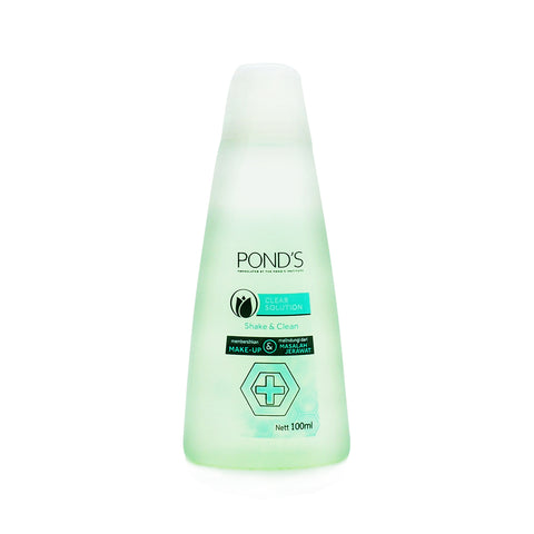 Pond's, Clear Solutions Shake Clean, 100 ml