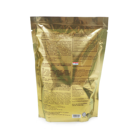 CNI, Premix Coffee, with Ginseng Extract, 20 sachets X 20 g (Gold)