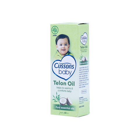 Cussons, Baby Healthy Care, Telon Oil, 60 ml