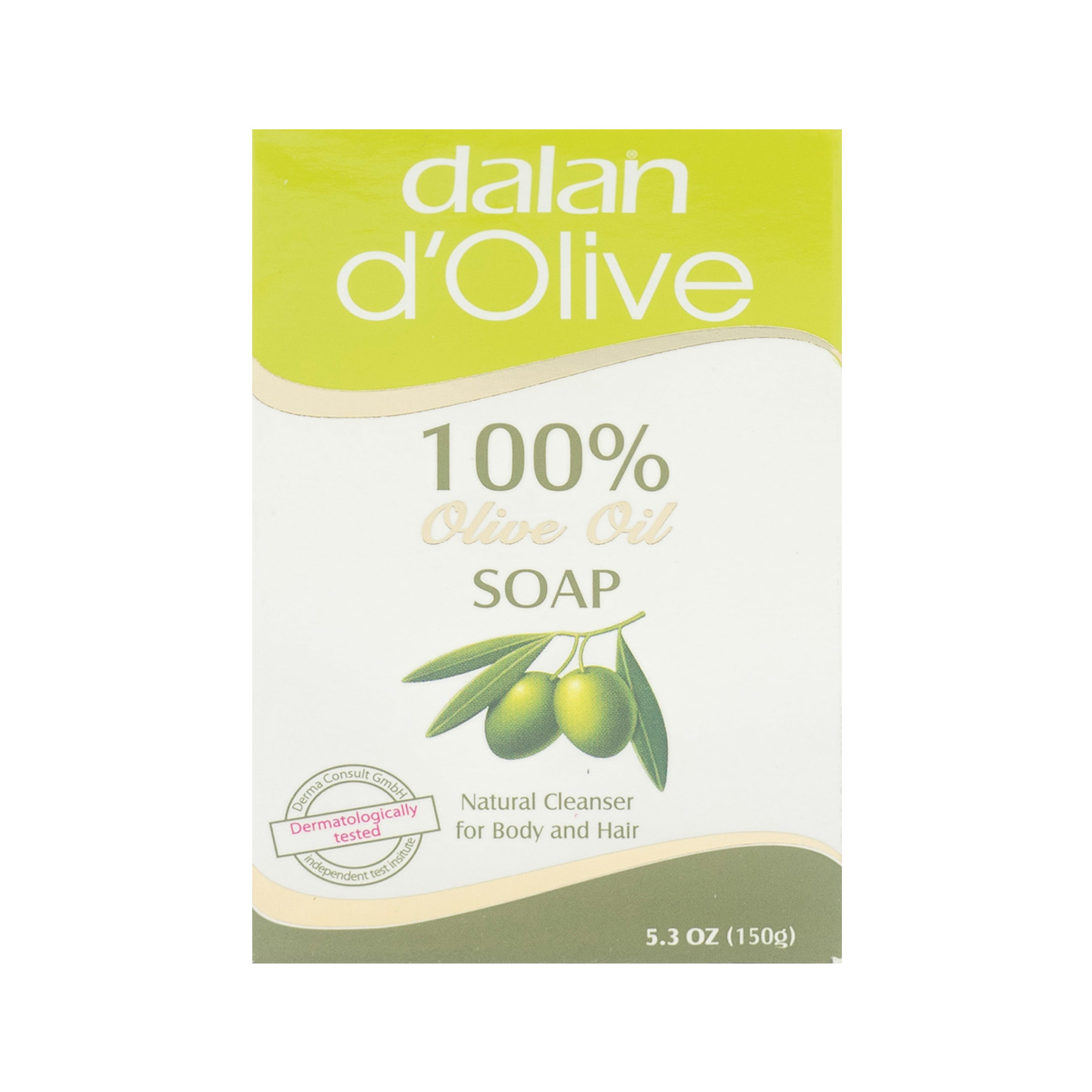 Dalan, D'Olive Oil Soap 100%, 150 g
