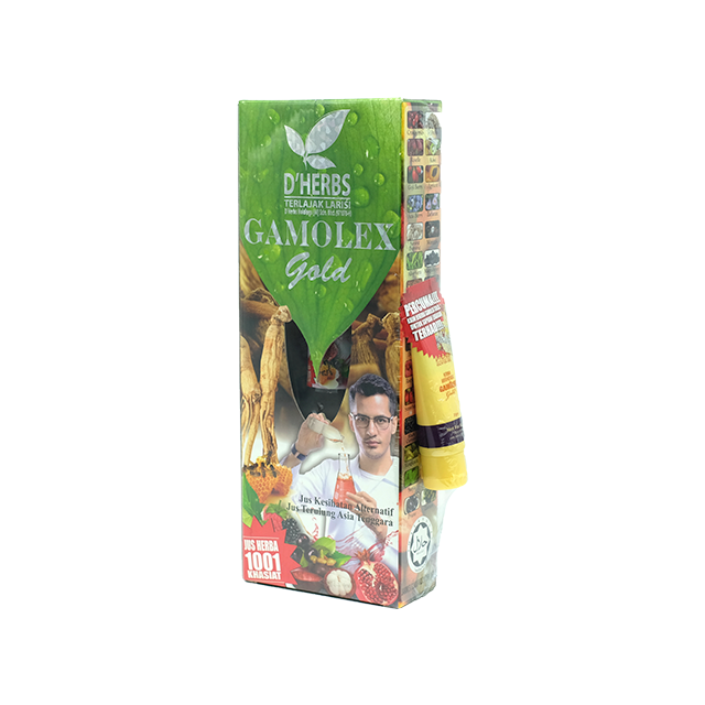 D'herbs, Gamolex Gold, 460 ml