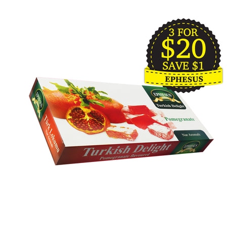 Ephesus, Turkish Delight, Pomegranate, 400 g