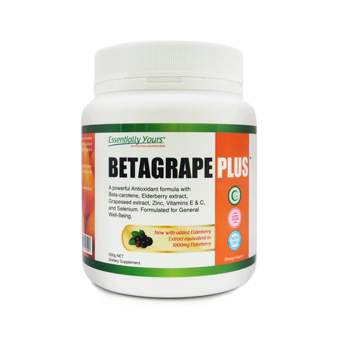Essentially Yours, Betagrape Plus, 500 g (NEW PACKAGING)