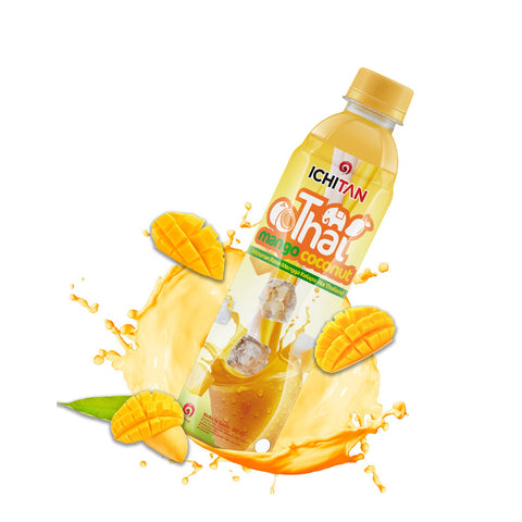 Ichitan, Thai Mango Coconut Juice, 310 ml