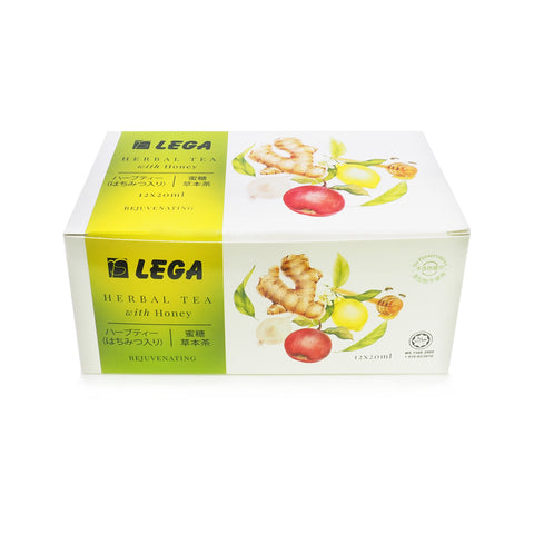 Jus Lega, Herbal Tea With Honey, 12 sachets X 20 ml