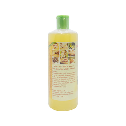 Mariati, Aroma Olive, Massage Oil, 500 ml