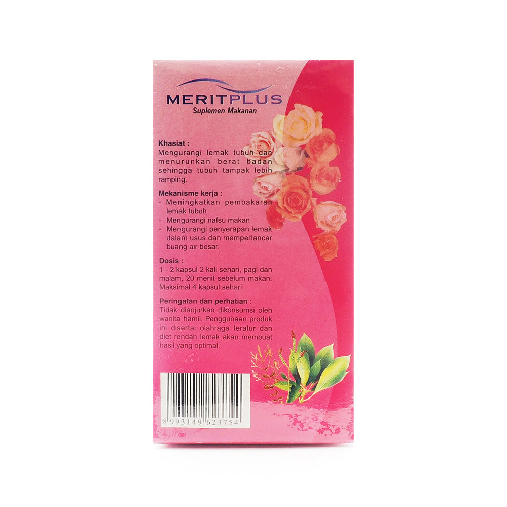 Merit Plus, Food Supplement, 30 capsules