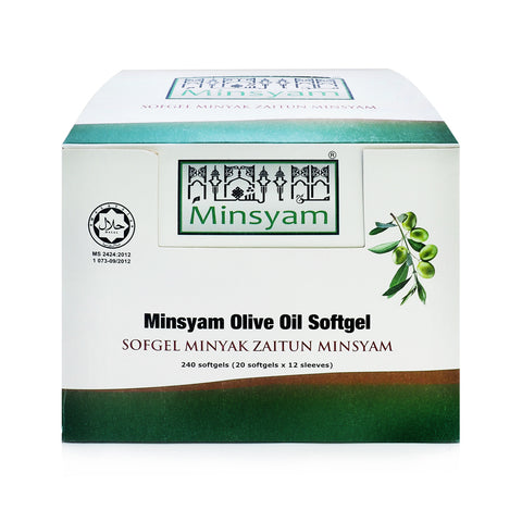 Minsyam, Olive Oil, 20 softgels