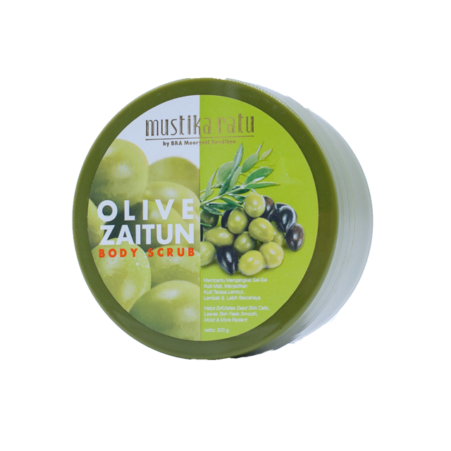 MR BODY SCRUB OLIVE ZAITUN 200ML