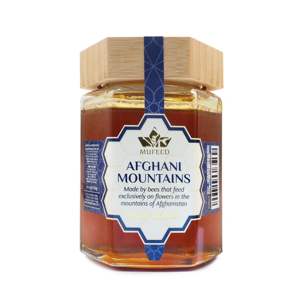Mufeed, Pure Honey, Afghani Mountains, 350 g