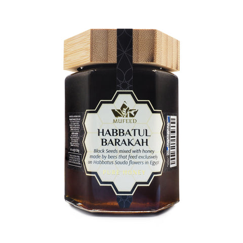 Mufeed, Infused Honey, Habbatul Barakah, 350 g
