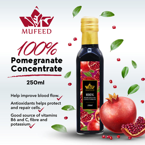 Mufeed, 100% Pomegranate Concentrate, 250 ml